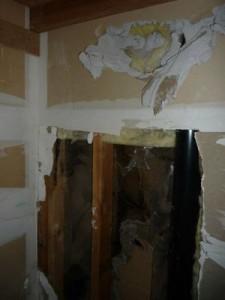 Water Damage Restoration Drywall Damage