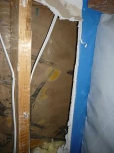 Water Damage Restoration Drywall Repair