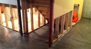 First Floor Mold Growth From Water Damage